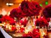 оформление стола на красной свадьбе