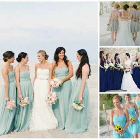 наряд на морскую свадьбу