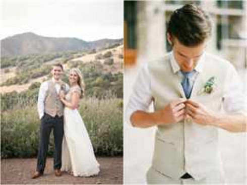 Фото женихов на свадьбе летом