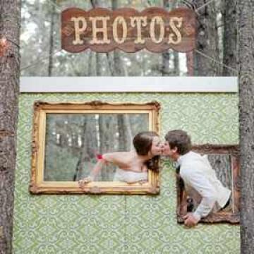 Фотозона на свадьбу своими руками - идеи и советы