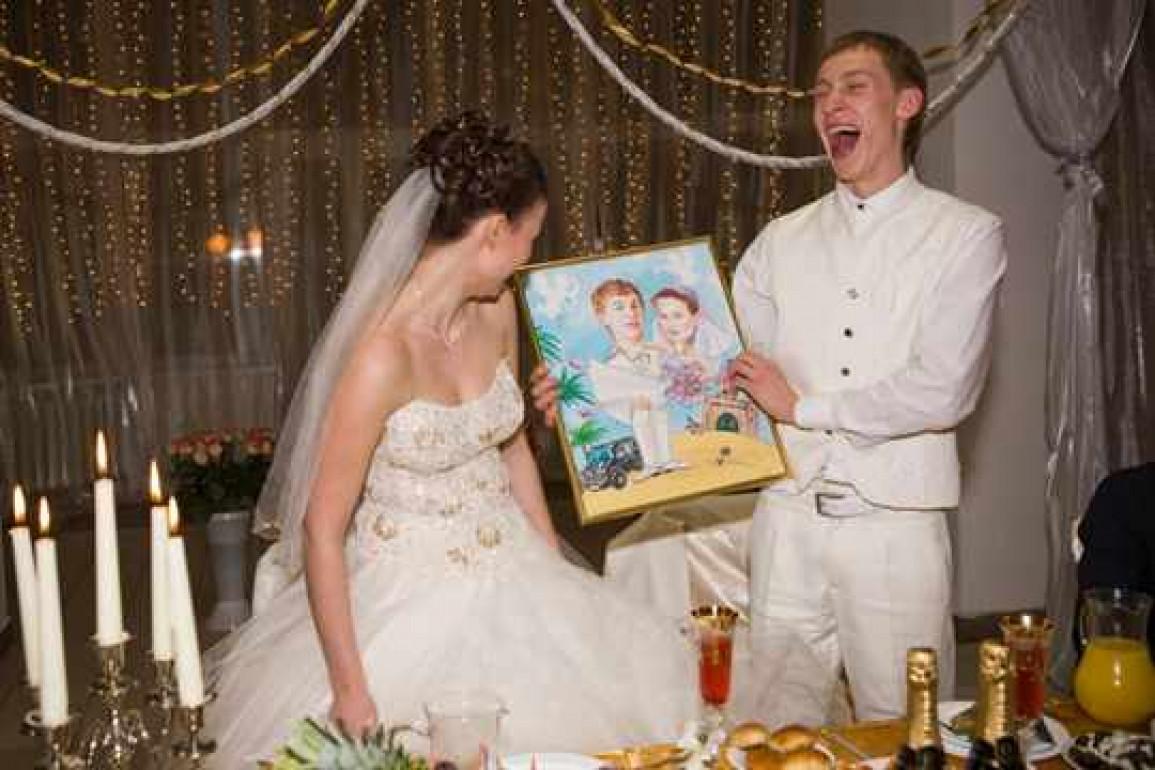 Подарок молодоженам от родителей невесты 723