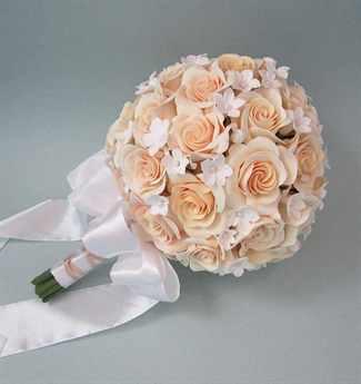 Букет из роз круглый фото, букет цветов