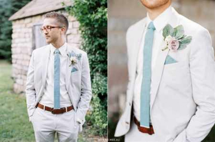 костюм для жениха на свадьбу фото