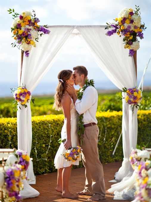 Свадебная арка украшаем своими руками фото 549