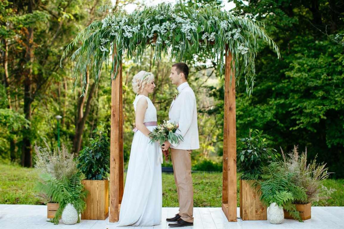 Свадебная арка украшаем своими руками фото 740