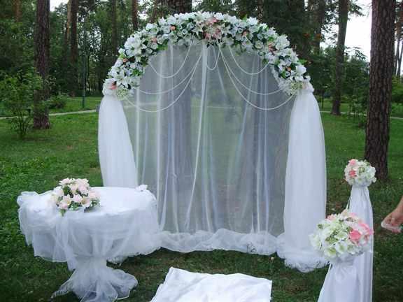 Свадебная арка украшаем своими руками фото 804