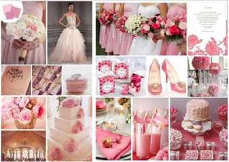 Как отметить розовая свадьба