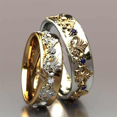 Кольца на свадьбу своими руками фото