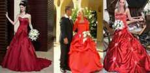 Букет к красному платью фото