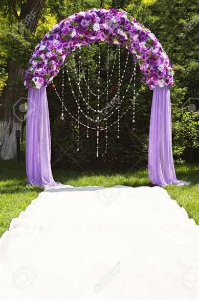 Как сделать арку для свадьбы своими руками 406