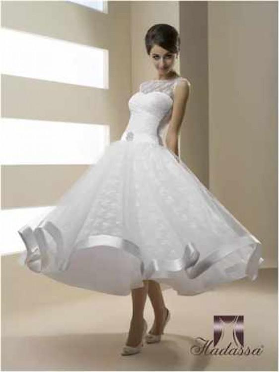 Свадебное платье в стиле 50