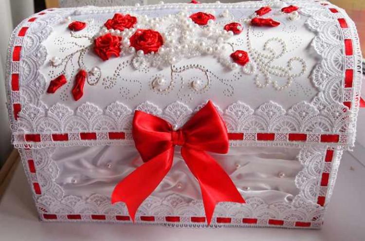 Ящик для свадьбы своими руками 8