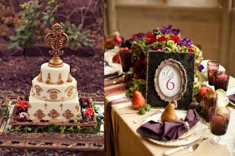 Свадьба в стиле барокко