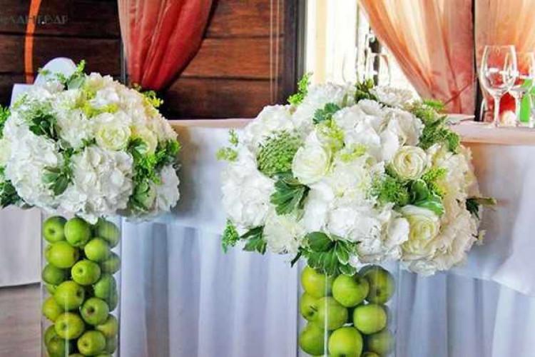 Яблочная свадьба сценарий