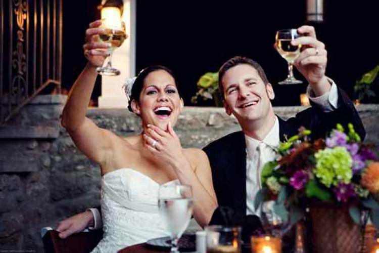 Тост от ведущего на свадьбу